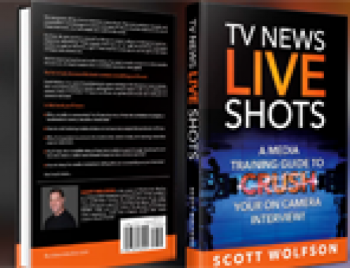 TV News Live Shots Media Training Fort Lauderdale Book Launch!